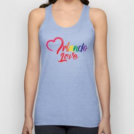 Heart Orlando Love Unisex Tank Top