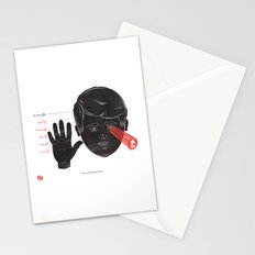 The Human Senses Stationery Cards