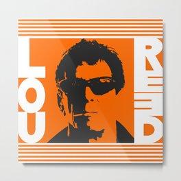 Lou Reed Metal Print