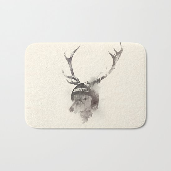 In the memory of Buzz Harley Bath Mat