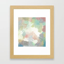 Sunday Floating Framed Art Print