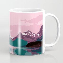 Maligne Lake - Cananda Coffee Mug