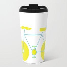Mustache Bike Travel Mug