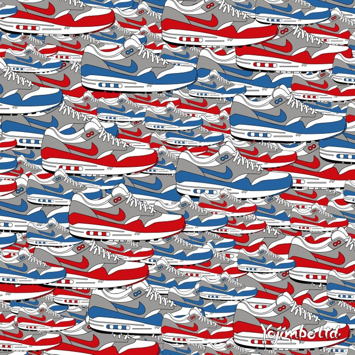 Air Max All Over Duvet Cover