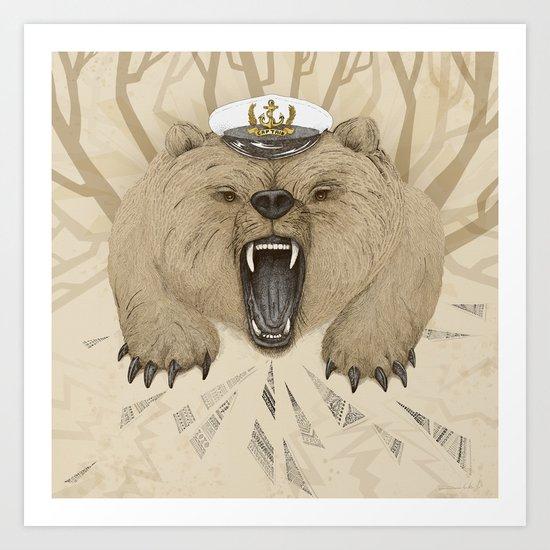 Roar of the Bear Art Print