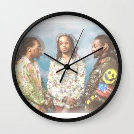 Migos Wall Clock