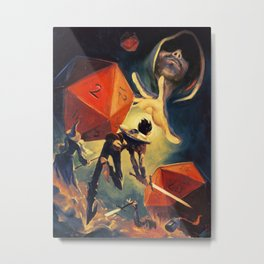 The Dungeon Master Metal Print