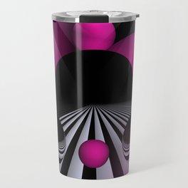 3D - abstraction -114- Travel Mug