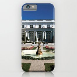 Newport Mansions, Rhode Island - Rosecliff - Original Great Gatsby Mansion by Jeanpaul Ferro iPhone Case