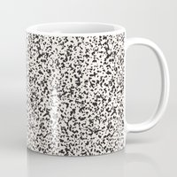 stone Mugs featuring Stone by Demi Goutte