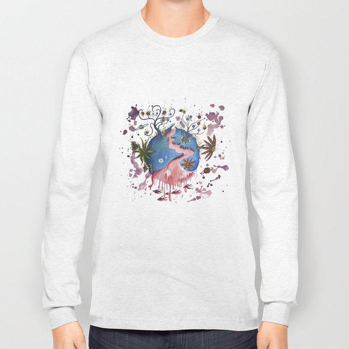 The strange planet Long Sleeve T-shirt