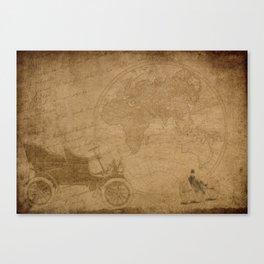Vintage Locomotion Canvas Print