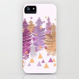 Christmas Trees #buyart #Christmas #Society6 iPhone Case