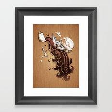 Morning Storm Framed Art Print