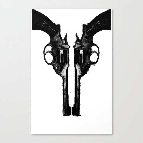 That's When I Reach For My Revolver Canvas Print