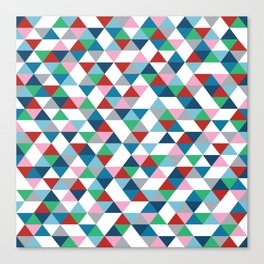 Triangles #2 Canvas Print