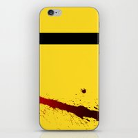 kill bill iPhone & iPod Skins featuring Kill Bill by Electric Avenue