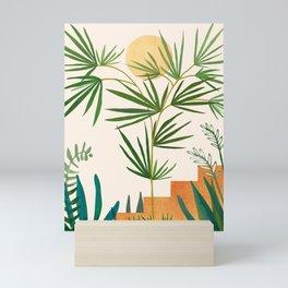 The Good Garden / Desert Plants Illustration Mini Art Print