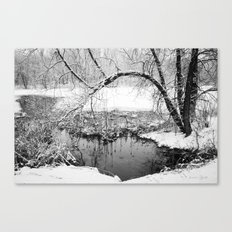 At Water's Edge Canvas Print