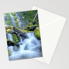 Waterfall - Proxy Falls Stationery Cards