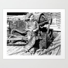 Powder Monkey Art Print