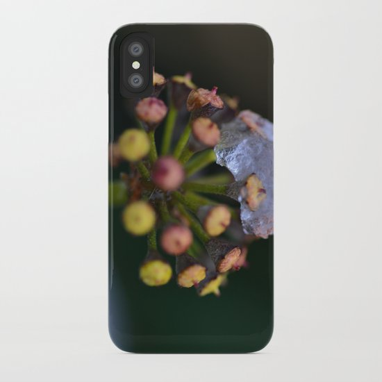Snow On The Wild Ivy iPhone Case
