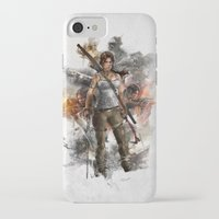 tomb raider iPhone & iPod Cases featuring Tomb Raider Reborn... by 187designz