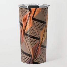 metallic modern architecture Travel Mug