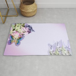 Lily of the Valley Rug
