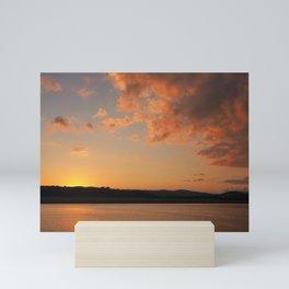 Sun Going Down Mini Art Print