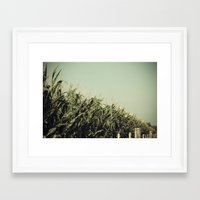 kansas Framed Art Prints featuring Kansas by CMcDonald