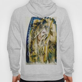 Golden Collar Hoody