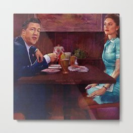 Shelly and Gordon Metal Print