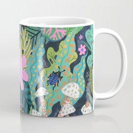 Beetle Pattern Coffee Mug