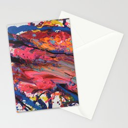 Colorful Abstract Stationery Cards