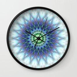 Light Mandala Wall Clock