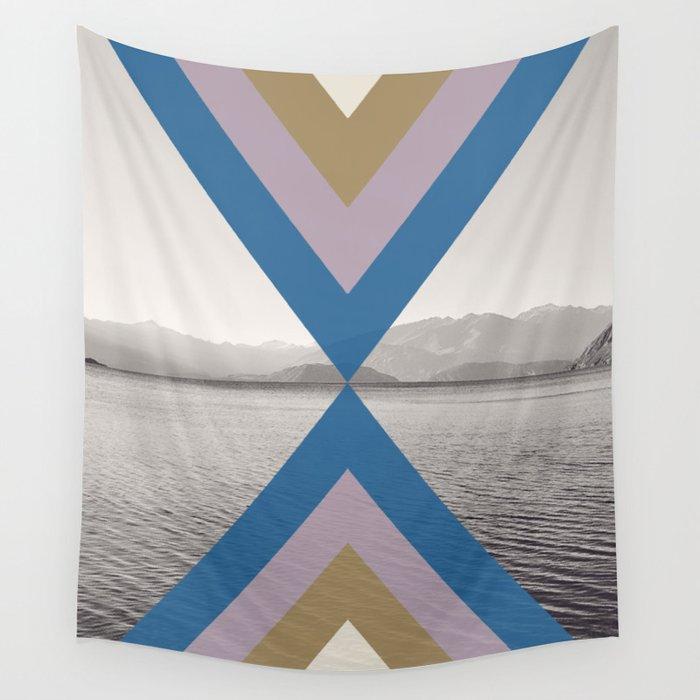 Boho Arrows of Lake Wanaka Wall Tapestry