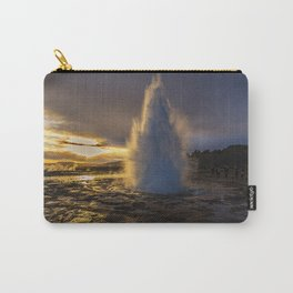 Geysir Sunset Iceland Carry-All Pouch