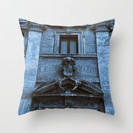 Chiesa S. Maria in Trivio of Rome Throw Pillow