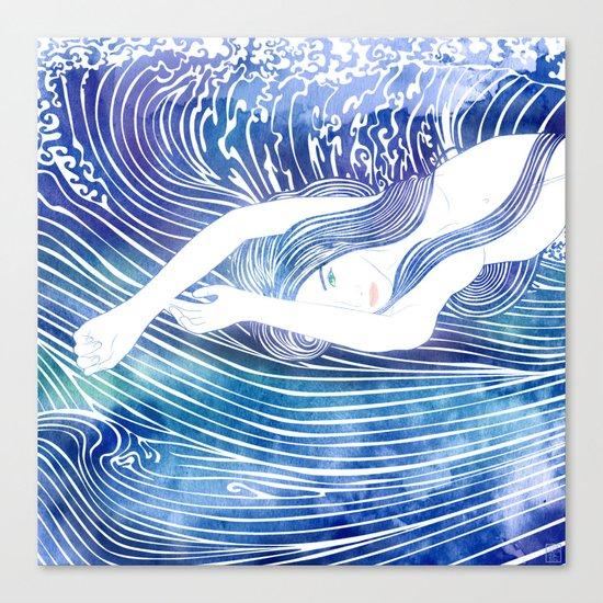 Water Nymph LVIII Canvas Print