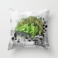 muppet Throw Pillows featuring mr. & mrs. muppet by ti-dablju-styles - Freaky Design & Art