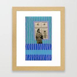 Window Portal Framed Art Print