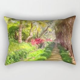 Madeira Sidewalk Rectangular Pillow