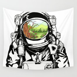Another world Wall Tapestry