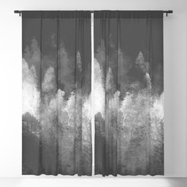 Chromatic Forest Nature Photography Blackout Curtain