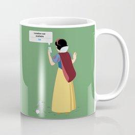 SnowWhite - A smile and a song Coffee Mug