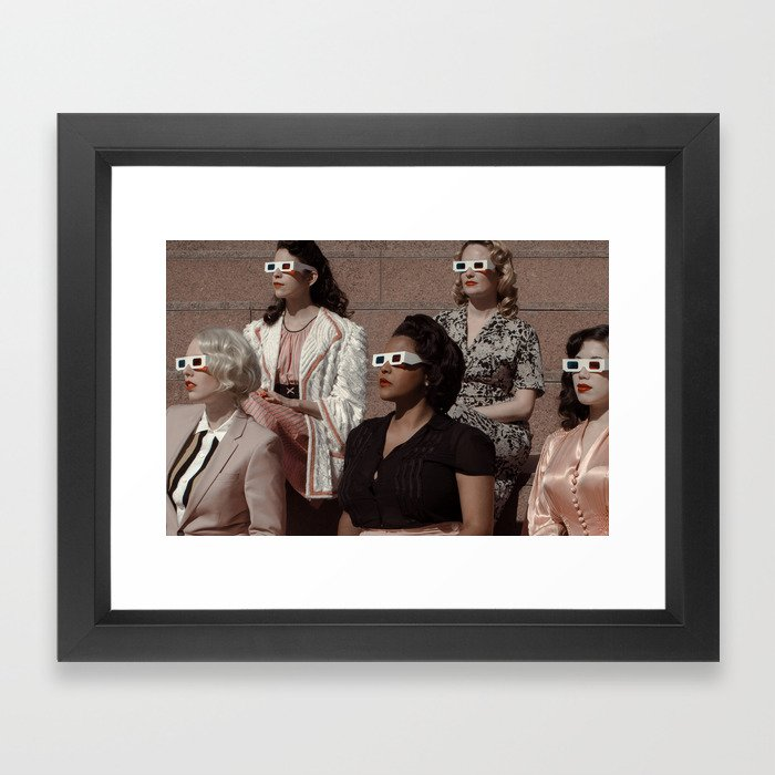 Stereoscopic 2 Framed Art Print