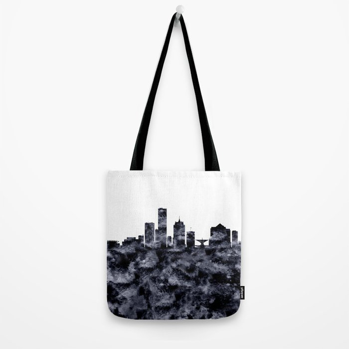 Milwaukee Skyline Wisconsin Tote Bag