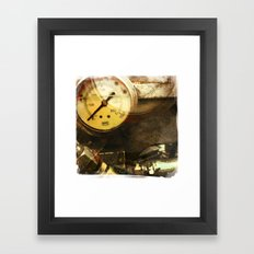 zero gauge Framed Art Print