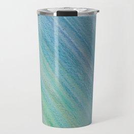 Greens and Blue Travel Mug